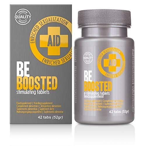 Velv\'Or AID BeBoosted stimulating 42 Tabs - Potenzmittel und Performance Booster für eine härtere Erektion