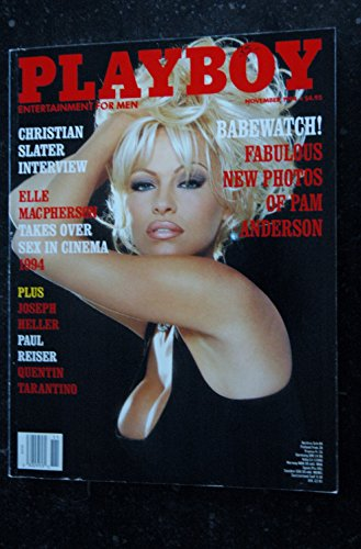 PLAYBOY US 1994 11 ELLE MACPHERSON PAM ANDERSON Donna Perry Christian Slater
