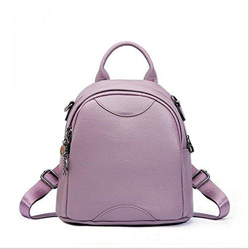 LS Kleine Runde Umhängetasche Leder Leder Mode Handtasche (Leder Runde Lagerung)