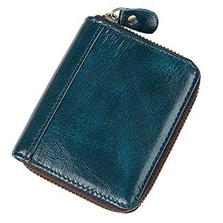 51PwOg%2B7NkL. SS324  - Bolso de tarjeta de cuero Organ Organ Style Card Package Monedero de la llave Bolsa RFID Paquete de tarjeta