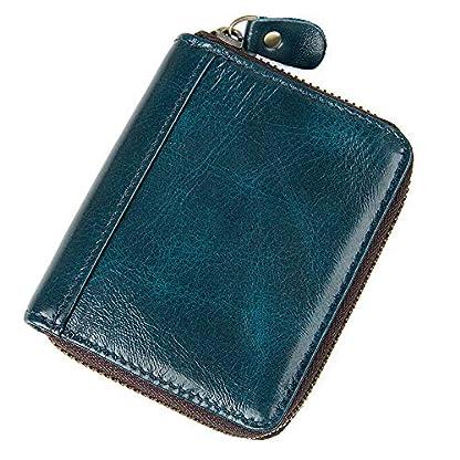 51PwOg%2B7NkL. SS416  - TIDING Paquete de tarjetas de cuero Organ Organ Style Card Package Coin Purse Key Bag RFID Card Package