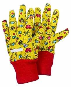 Gants de jardinage en coton pour enfant 8 12 ans amazon for Gants jardinage 2 ans