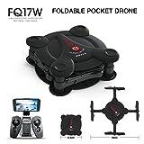 FQ777 FQ17W 6-Axe Gyro Mini Wifi Première Personne Vue Pliable G-Capteur Pocket Drone Avec 0.3MP Caméra Altitude Tenir RC Quad-Copter,Black