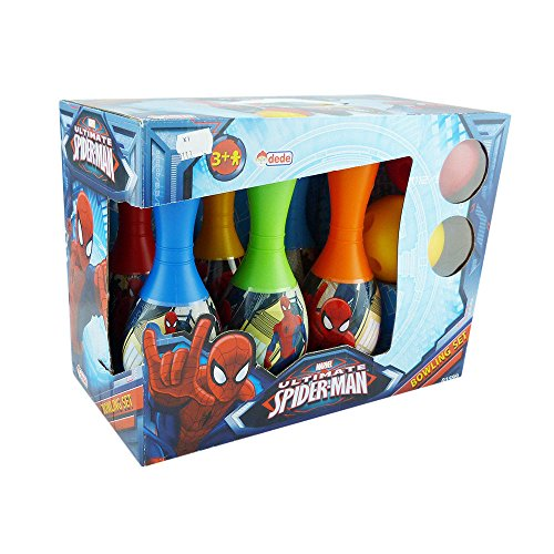 Bowling Set Lizens Bowlingset Kegelset Kinder Spiderman Elsa Olaf (Spiderman)