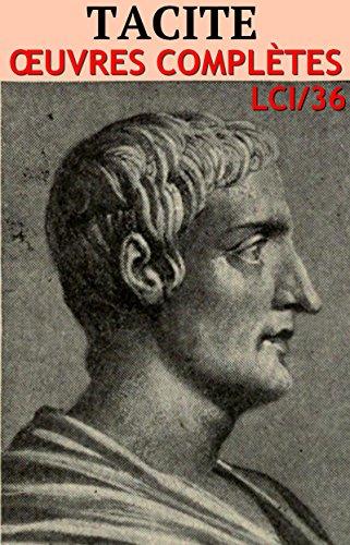 Tacite - Oeuvres: lci-36 (lci-eBooks) par Tacite