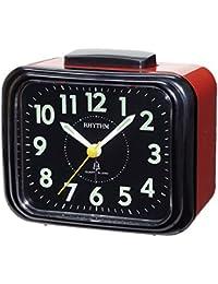 Rhythm(Japan) Bell Alarm,Silky Move Value Added Bell Alarm Clock 10.4x9.5x6.5cm