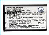 CS-PHD600MB Batterie 1050mAh Compatible avec [Philips] Avent SCD600, Avent SCD600/00,...