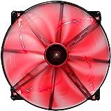 Aerocool EN51387 Ventilateur de boîtier LED 200 mm Noir
