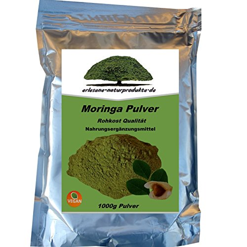 moringa polvere 1 kg qualità premium di erlesene naturprodukte