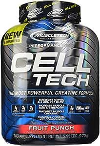 MuscleTech 2.72Kg Fruit Punch Cell-Tech Supplement