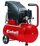 Einhell Kompressor TC-AC 190/24 (1,5 kw, 24 L Tank, Ansaugleistung 160 l/Min, Max. Betriebsdruck 8 Bar, Auto. Druckschalter, inkl. Druckminderer und Rückschlagventil)