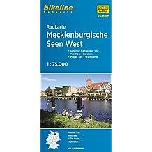 Mecklenburgische Seen West Cycle Map: BIKERK.DE.MV05