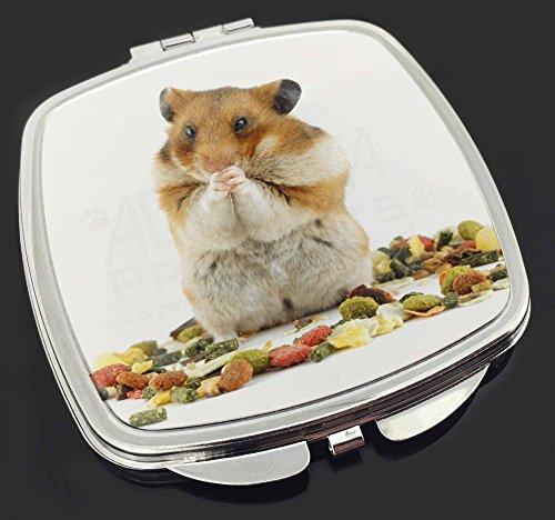 Lunch Box Hamster Make-up Taschenspiegel Weihnachtsgeschenk