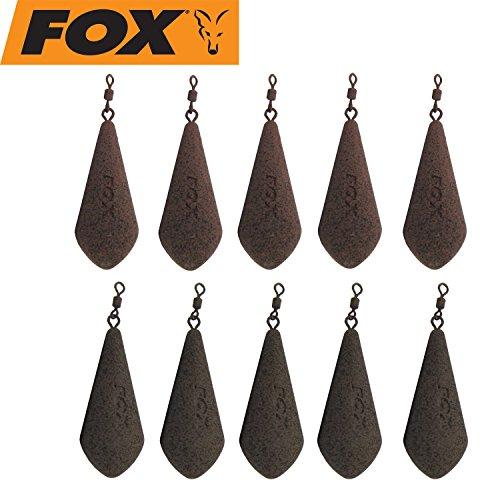 Fox Blei Exocet Casting Leads 10 Bleie Karpfenbleie, Gewicht:113g