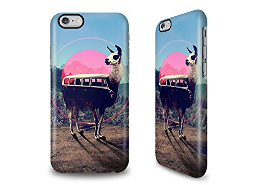 iPhone 6s Hülle mit Ali Gulec Design - Gardening Llama