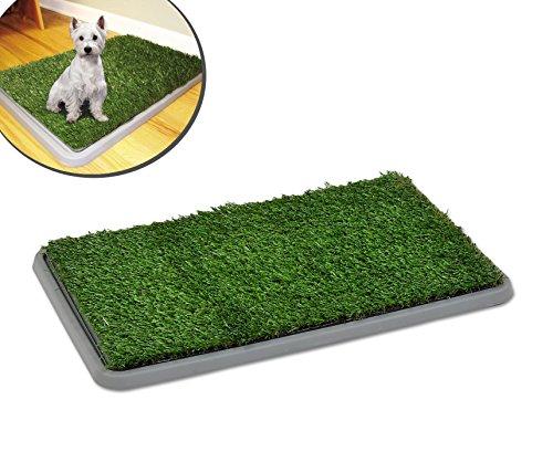 Inodoro bandeja de césped artificial educación perros POTTY PATCH 68x43x5cm