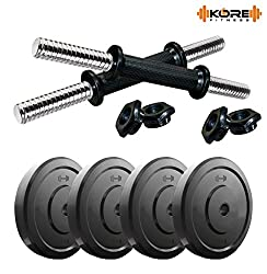 Kore DM-10KG COMBO16 Dumbbells Kit