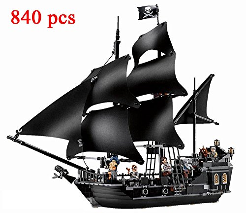 #16006 black pearl barco pirata 6 mini figuras # Lepin con la marca set construcción - edificio compatible bricks
