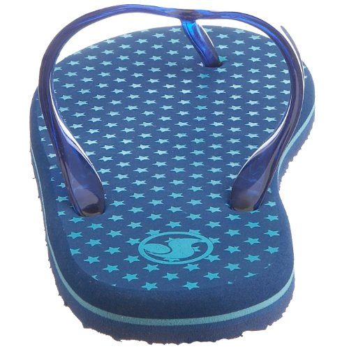 Revpress Dvs Tongs Peso Print Sp6p Purple, Sandali Donna blu (Dazzling-star)