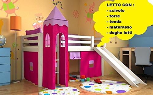 Letto A Castello Triplo Flexa : ᐅ letto a castello bambini prezzo migliore ᐅ casa migliore