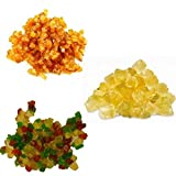 Écorces d'oranges, de citrons et de fruits confits en cubes (3 x 200 g).