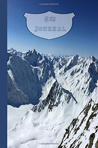 Ski Journal: The journaling notebook for logging ski adventures and winter sport activities - Snowy mountains por The Highland wanderer Journals