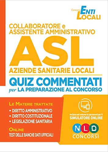 Collaboratore e assistente amministrativo ASL