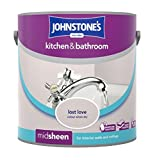 Johnstone's 308801 Kitchen and Bathroom Emulsion Paint, Lost Love, 2.5 Litre