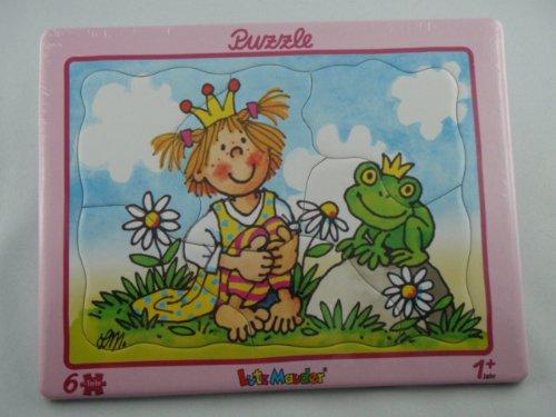 Lutz Mauder Lutz mauder17627Prinzessin mit Frosch Puzzle (6-teilig)