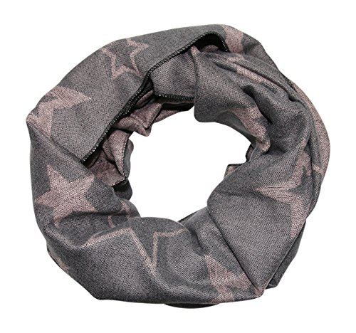 Schal - tolle Farben (Prime Winter grau rosee) (Mint Grün Rosen)