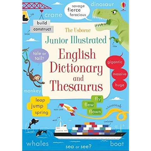 Junior Illustrated English Dictionary and Thesaurus (Illustrated Dictionaries and Thesauruses)
