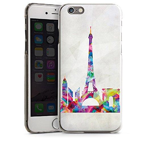 Apple iPhone 5s Housse Étui Protection Coque Paris Tour Eiffel France CasDur transparent