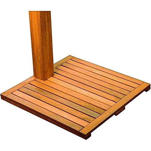 STILISTA® Gartendusche Cascata Bodenplatte