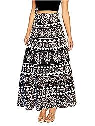 Christmas Sale - Ethnic Print - Wrap Around Skirt wrap Long Skirt, Gypsy Skirt, Tribal Skirt, ...