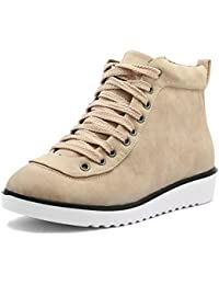 Shuberry Women's Latest Collection, Comfortable & Fashionable High Top Shoes