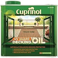 Cuprinol 2.5L Decking Oil and Protector - Natural Cedar