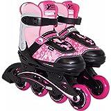 Best Sport Mädchen Inline-skates Inline-Skates, pink/schwarz, 35-40, 2307259