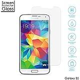 Aukey à amzdeal prime Protection écran en Verre Trempé INRAYABLE et ULTRA RéSISTANT INDICE Dureté 9H Haute transparence pour Samsung Galaxy S5