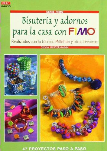 BISUTERIA Y ADORNOS PARA LA CASA CON FIMO por SILVIA HINTERMANN