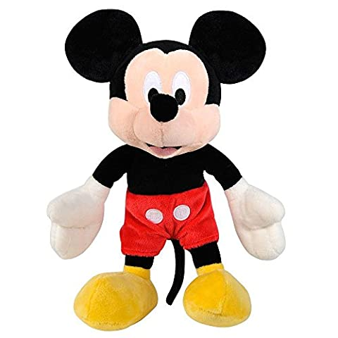 Micky Maus - Disney Plüsch Figur Mickey Mouse Softwool 21cm