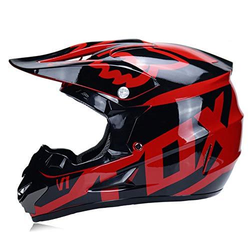 Preisvergleich Produktbild Jethelme Integralhelme Helme Außenhelm Helm ABS Leichtgewichtler Motorrad Fahrradhelm Sonnenschirm Sicherheit Atmungsaktiv Vier Jahreszeiten Halbhelme Integralhelme Motocrosshelme, RedD-M