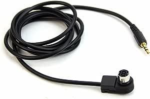 Sodial Auto 3 5 Mm Stereo Mini Jack Fuer Alpine Jvc Ai Net 4ft 100 Cm Aux Auto Audio Kabel Fit Fuer Adapter Fuer Telefon Auto