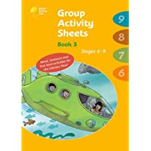 Oxford Reading Tree: Stages 6-9: Book 3: Group Activity Sheets