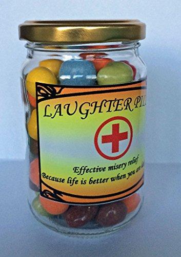 Rire Plaquettes Jar - Produit de la nouveauté Funny cadeau Présent