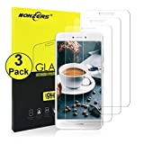Protector de Pantalla para Huawei P8 Lite,[3 Unidades]Cristal Templado para P8 Lite,Premium HD Vidrio Templado,Anti-Rasguños