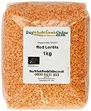 Buy Whole Foods Online Organic Red Lentils 1 Kg