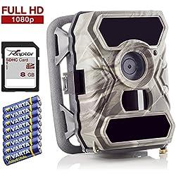 SecaCam RAPTOR Full HD 52 Grados Cámara de vigilancia | Cámara de caza – Pack Premium, cámara trampa, visión nocturna