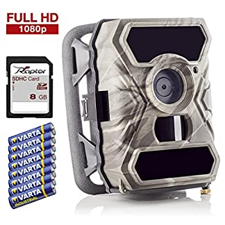 SECACAM Raptor outdoor infrared surveillance - wildlife camera, 12 MP, Full HD, 0.4 seconds response rate