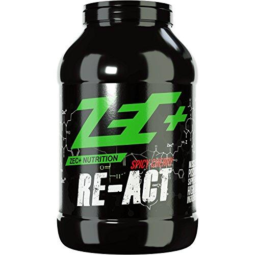 ZEC+ RE-ACT, All-in-one Post Workout Shake mit Aminosäuren Vitaminen und Mineralien SPICY CHERRY 1800g