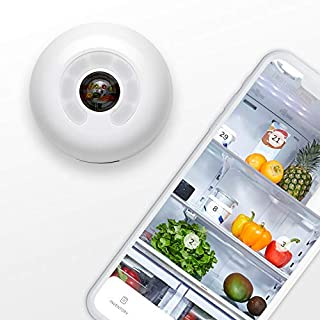 FridgeCam by Smarter (Latest Version with Food Tracking) - Wi-Fi Fridge Camera, Make Any Fridge Smart, Universal Mount for all Fridges Included, Free iOS and Android App, Works with Alexa (B07JNYYCG2) | Amazon price tracker / tracking, Amazon price history charts, Amazon price watches, Amazon price drop alerts